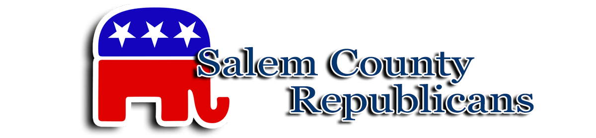 Salem County Republicans banner with elephant logo